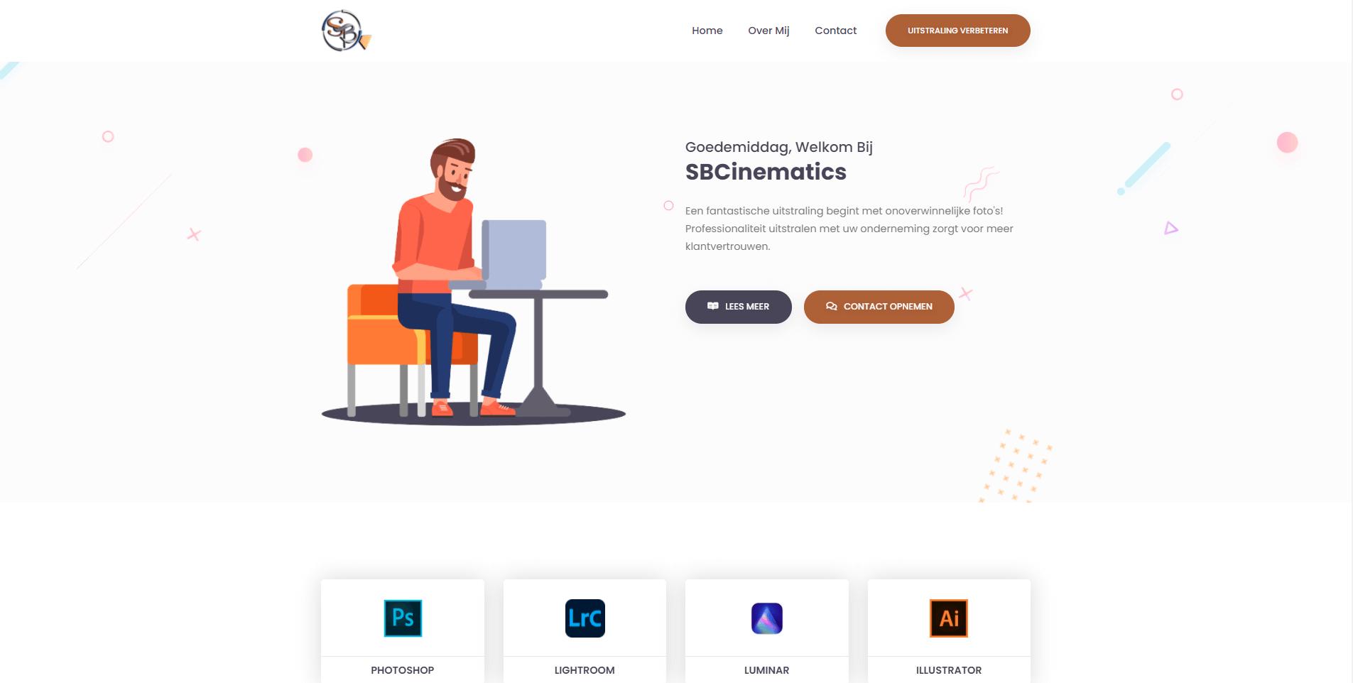 Website SBCinematics