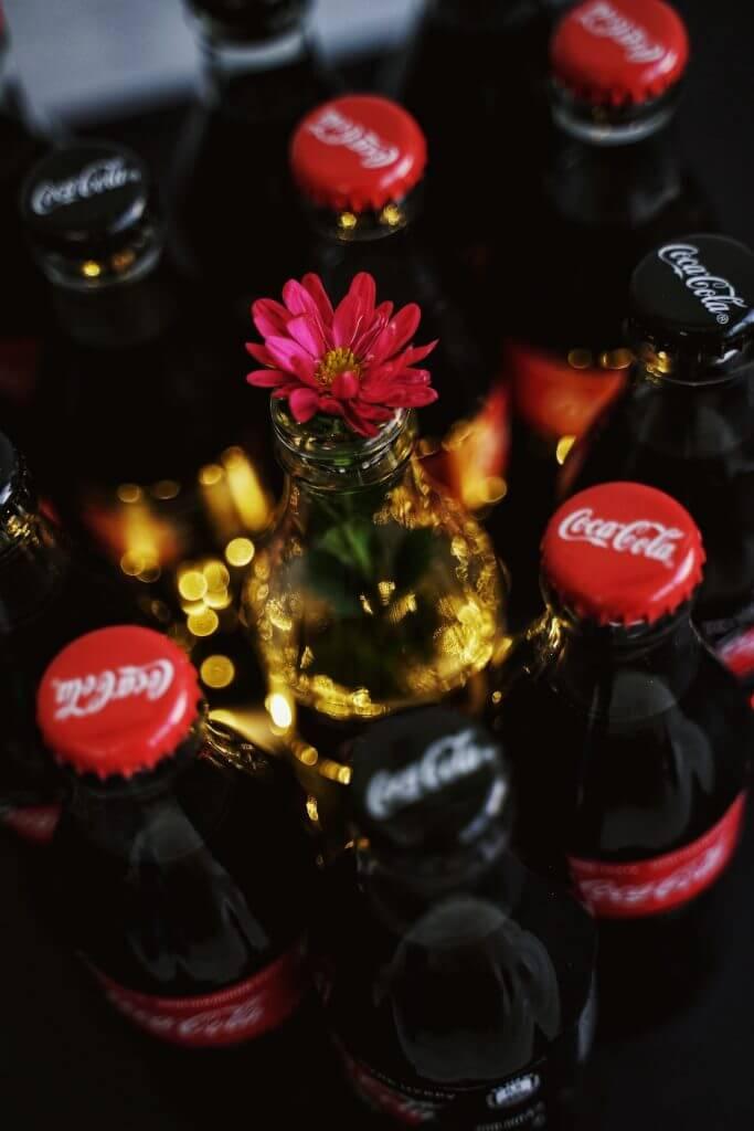 cococola-bottles