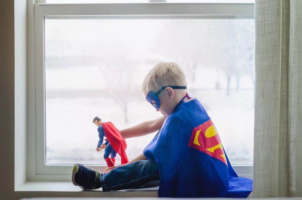 Zelf een website maken als superman